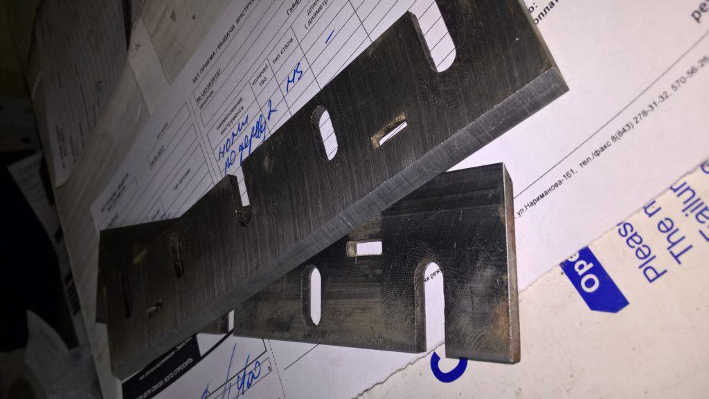 Заточка шлифовка ножа для электрорубанка Makita
