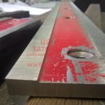 Заточка плоских гильотинных ножей