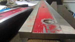 заточка ножа по полиэтилену